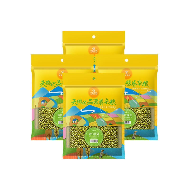 天瑞优品绿豆350G*4包