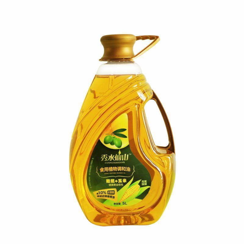 秀水仙山 橄榄玉米调和油 5L