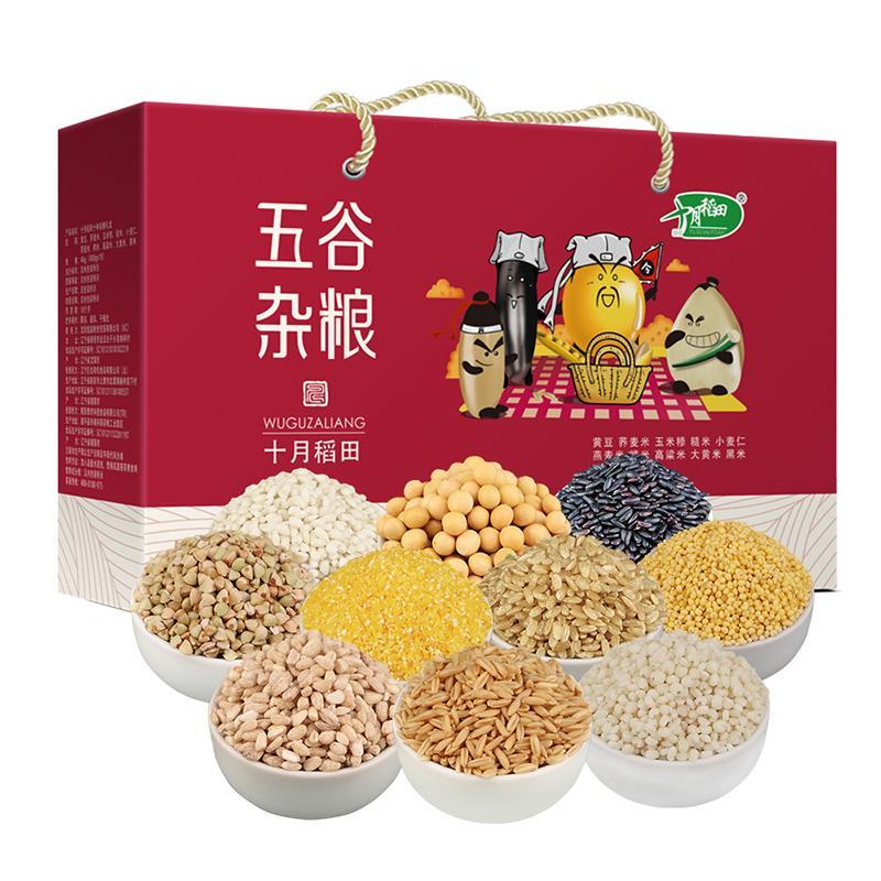 十月稻田 五谷杂粮组合4kg