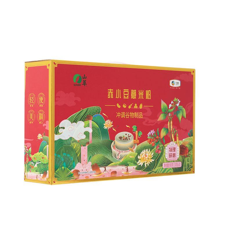 中粮山萃赤小豆薏米粉礼盒900g