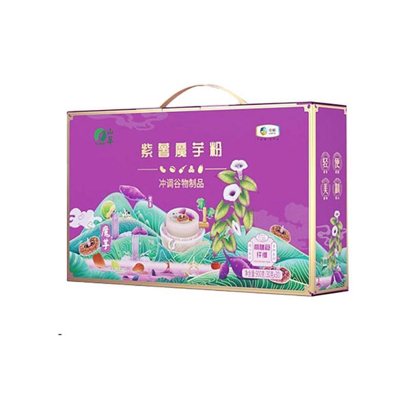 中粮山萃紫薯魔芋粉礼盒900g